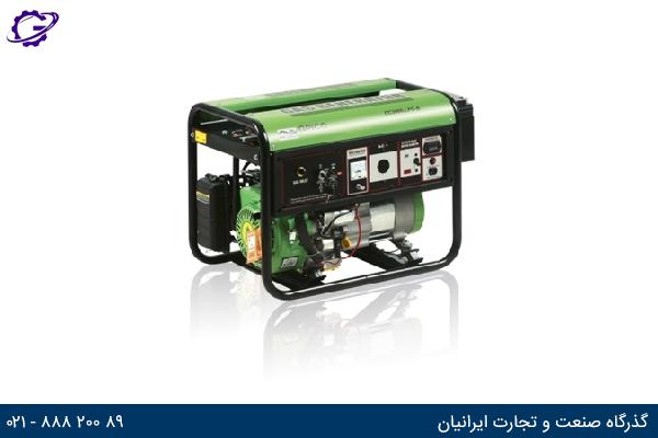 تصویر موتور برق گازی گرین پاور مدل CC2000