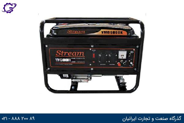 تصویر موتور برق بنزینی استریم مدل  YMG6000E