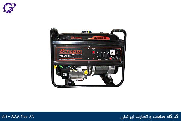 تصویر موتور برق بنزینی استریم مدل  YMG7000X