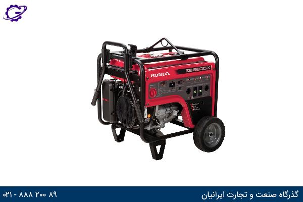 تصویر موتور برق بنزینی هوندا مدل  EB6500X