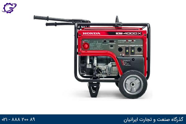 تصویر موتور برق بنزینی هوندا مدل  EB4000X