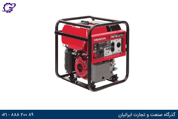 تصویر موتور برق بنزینی هوندا مدل  EB3000C