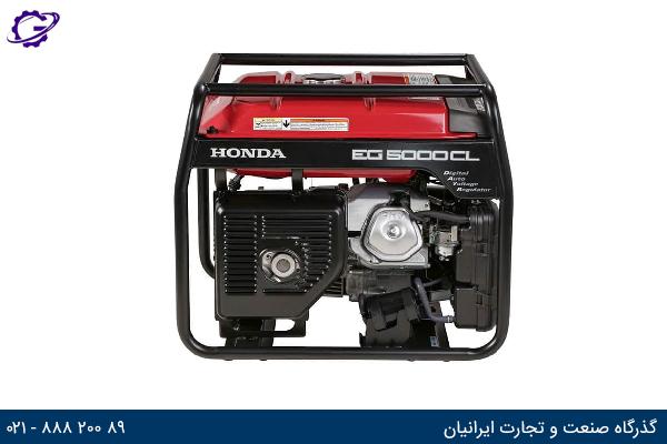 تصویر موتور برق بنزینی هوندا مدل  EG5000CL