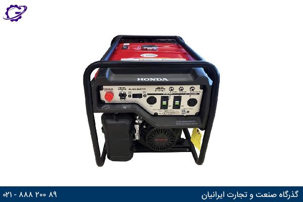 تصویر موتور برق بنزینی هوندا مدل  EG4000CL