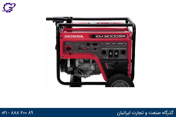 تصویر موتور برق بنزینی هوندا مدل  EM5000SX