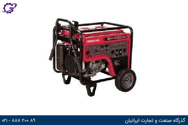 تصویر موتور برق بنزینی هوندا مدل  EM4000SX