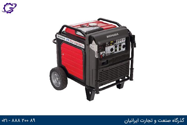 تصویر موتور برق بنزینی هوندا مدل  EU7000IS