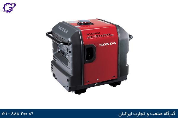 تصویر موتور برق بنزینی هوندا مدل  EU3000IS