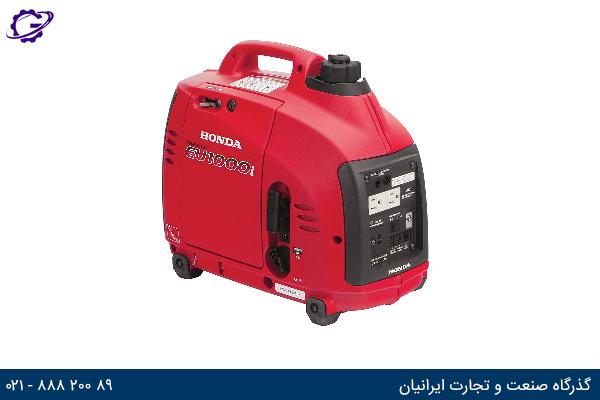 تصویر موتور برق بنزینی هوندا مدل  EU1000I