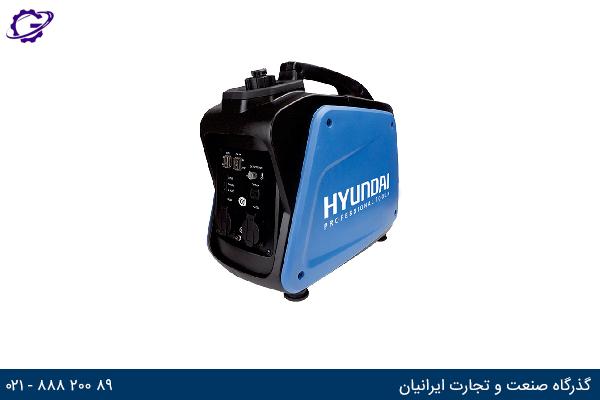 تصویر موتور برق بنزینی هیوندای مدل  HG1220-IG