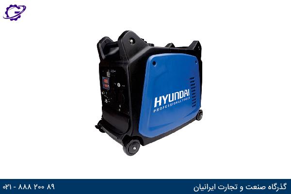 تصویر موتور برق بنزینی هیوندای مدل  HG1230-IG