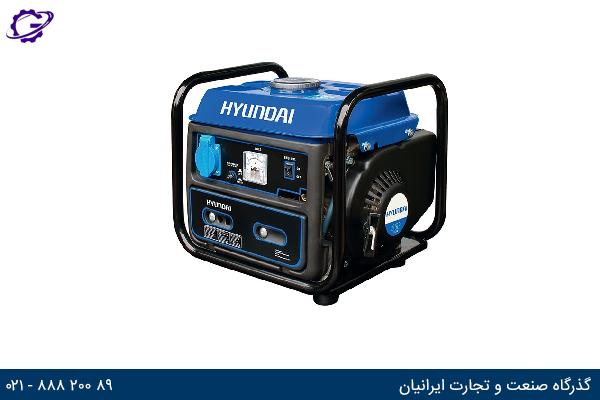 تصویر موتور برق بنزینی هیوندای مدل  HG2010-PG