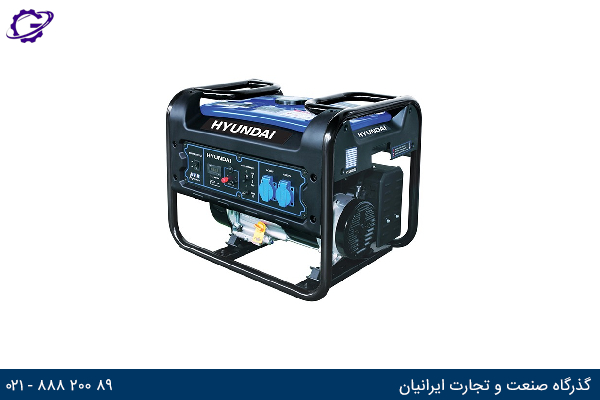 تصویر موتور برق بنزینی هیوندای مدل  HG5355-PG