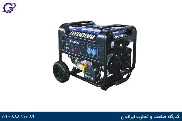 تصویر موتور برق بنزینی هیوندای مدل  HG8550-PG