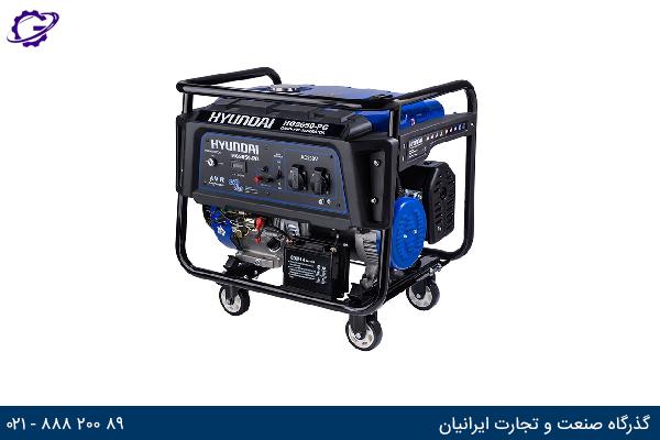 تصویر موتور برق بنزینی هیوندای مدل  HG8525
