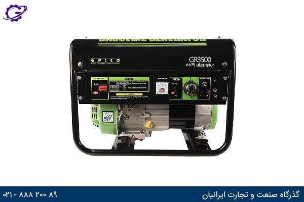 تصویر موتور برق بنزینی هیوندای مدل  GR3500