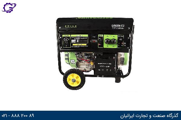 تصویر موتور برق بنزینی هیوندای مدل  GR6500-E2