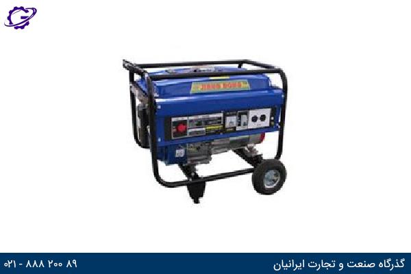 تصویر موتور برق بنزینی جیانگ دانگ مدل  JD3500R