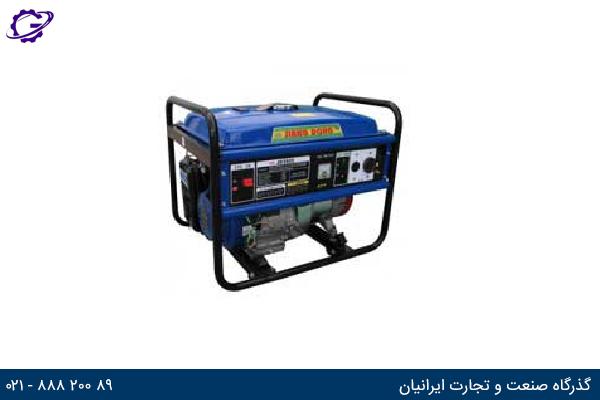 تصویر موتور برق بنزینی جیانگ دانگ مدل  JD5500