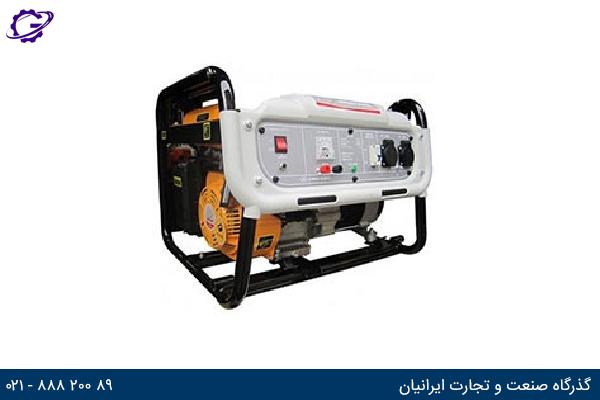 تصویر موتور برق بنزینی جیانگ دانگ مدل  JD5500T