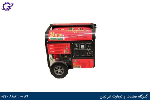 تصویر موتور برق بنزینی جیانگ دانگ مدل  JD9000