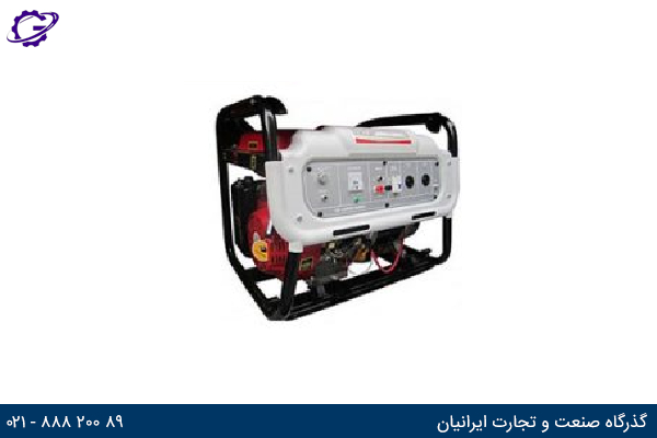 تصویر موتور برق بنزینی جیانگ دانگ مدل  JD7500R