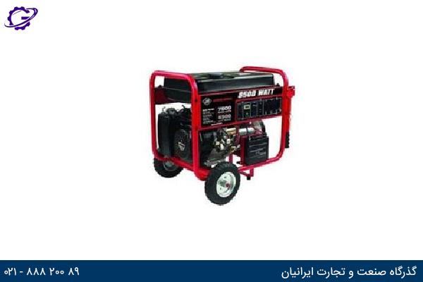 تصویر موتور برق بنزینی جیانگ دانگ مدل  JD8500