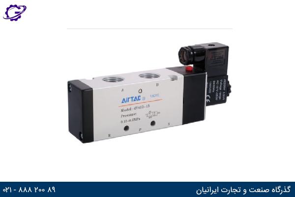 تصویر شیر برقی کنترل جهت ایرتک مدل 4V400