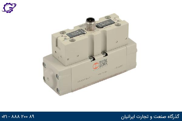تصویر شیر کنترل جهت متال ورک مدل ISV