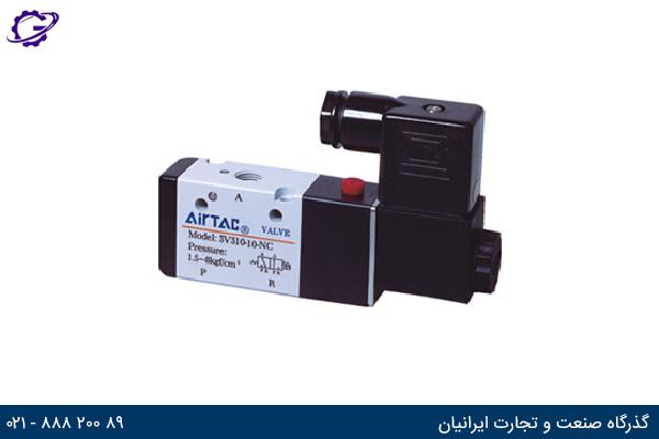 تصویر شیر برقی کنترل جهت ایرتک مدل 3V300