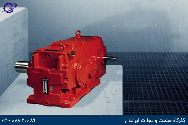 گیربکس صنعتی شفت موازی و شفت 90 درجه سری M