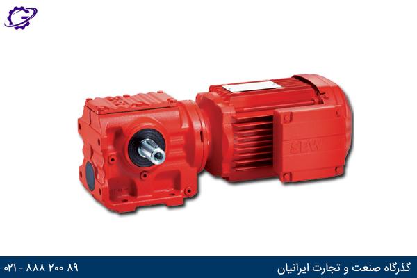 تصویر موتور گیربکس حلزونی سری S