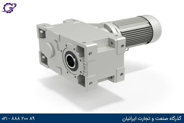 تصویر گیربکس صنعتی هلیکال شفت موازی سری HDP