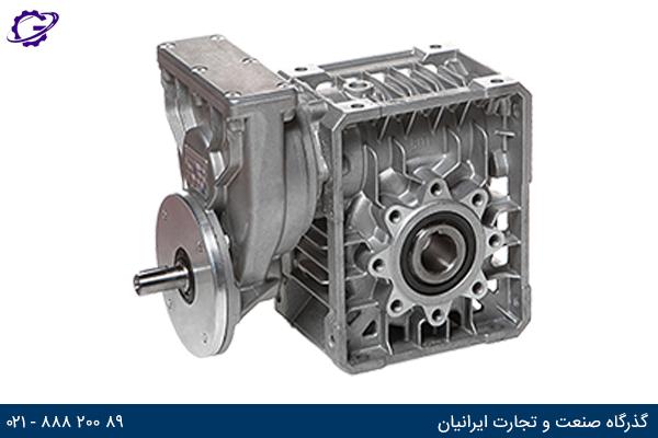 تصویر گیربکس حلزونی سری P-MU