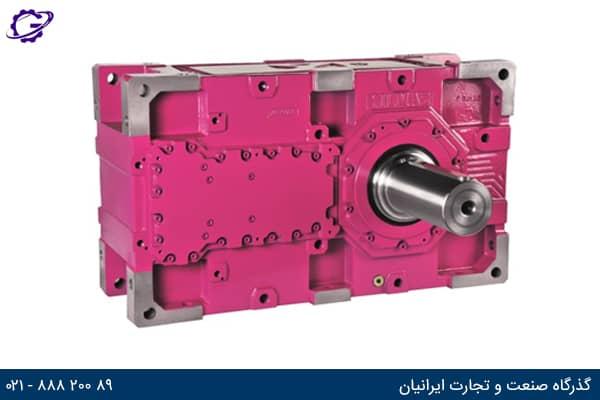تصویر گیربکس هلیکال صنعتی سری HR ایلماز